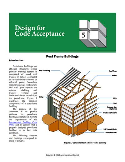 DCA 5 - Post-Frame Buildings