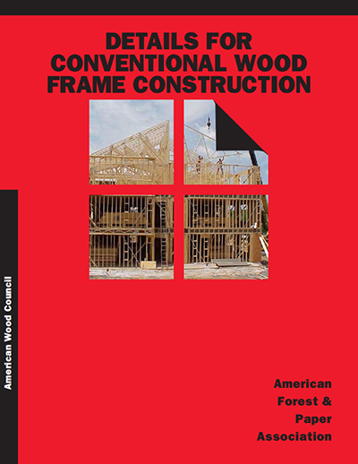 Wcd 1 Details For Conventional Wood Frame Construction